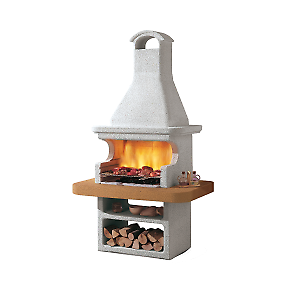Barbecue in muratura con cappa portorose prezzi e offerte for Barbecue le roy merlin
